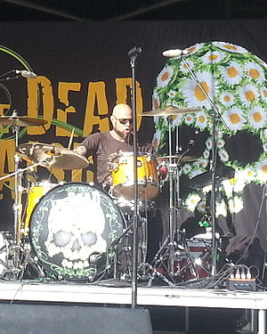 Frank Ferrer - Ferrer with the Dead Daisies in 2013.