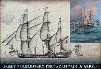 Fredensborg (slave ship) - Image: Fredensborg (1753 ship)