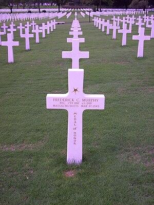 Frederick C. Murphy - Murphy's grave in Lorraine, France