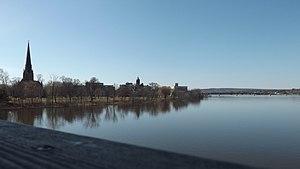 Fredericton - Fredericton in April 2013