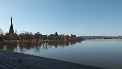 Skyline of Fredericton