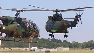French Army Light Aviation - Image: French Army Gazelle Puma 1589