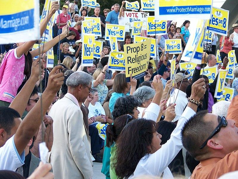 Fresno: Proposition 8 Rally