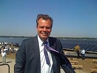 Friedbert Pflüger Solarpark Lieberose.JPG