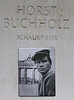 Schauspieler Horst Buchholz