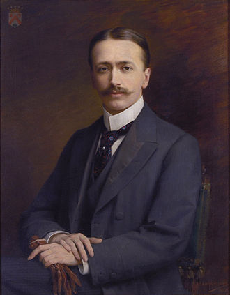 Museum Mayer van den Bergh - Portrait of Fritz Mayer van den Bergh by Jozef Janssens, 1901