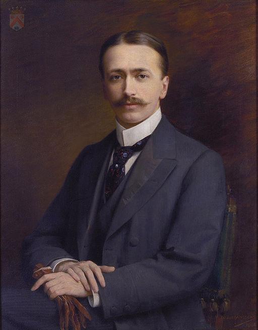 Fritz Mayer van den Bergh by Jozef Janssens