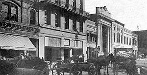 Hattiesburg, Mississippi - Front Street, c. 1900