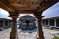 Front view of the temple and courtyard -Chennakesava Temple, Anekere, Channarayapatna 05.jpg