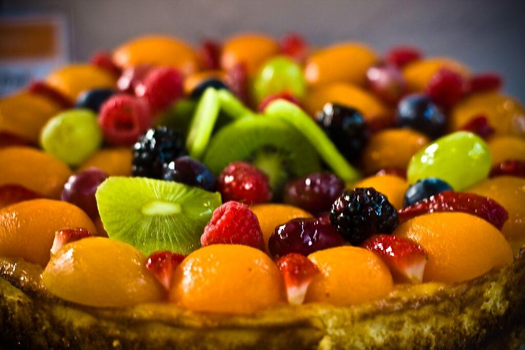 Raspberry And Peach Cake Recipe