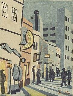 Sakuichi Fukazawa Japanese painter
