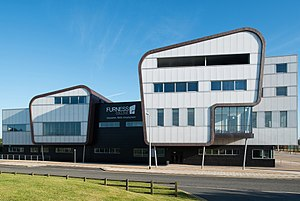 Furness College, Barrow-in-Furness - Image: Furness College, Channelside Campus