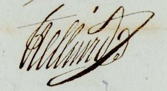 Anne-François-Charles Trelliard - Image: Général Trelliard signature