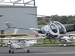 G-BOXT Hughes 269C Helicopter (26619070893).jpg