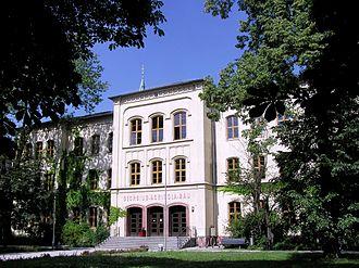 Westsächsische Hochschule Zwickau - University of Applied Sciences Zwickau - Image: GAB hell
