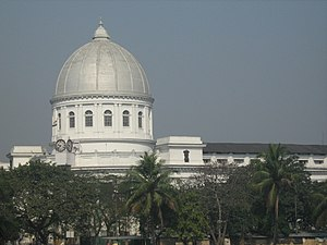 This is the General Post Office of Kolkata, in...