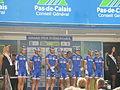 GP Isbergues 2013 - équipe FDJ.fr.JPG