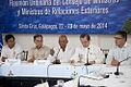 Galapagos - Ecuador 23 de Mayo del 2014. Rueda de Prensa de la sesión de trabajo de la Reunión de Ministras y Ministros de Relaciones Exteriores de Los países miembros del UNASUR. (14068432177).jpg