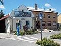 Galenus pharmacy, Parking meter and Tourinform office, 2018 Ráckeve.jpg