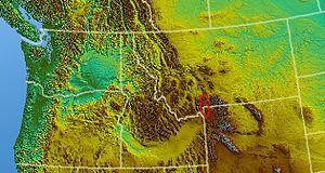 Gallatin Range - Image: Gallatin Range