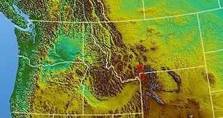 Gallatin Range mountain range
