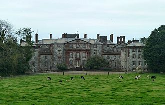Earl of Galloway - Galloway House, the family seat in Scotland from the 1740s until 1908