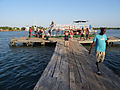 Gambia toeristen keren terug van vistrip.jpg