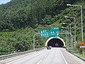 Gangchon IC 2.3km Ahead Sign in Seoul-Yangyang Expwy Balsan 1 TN(Yangyang Dir).jpg