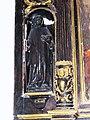 Ganzeville (Seine-Mar.) église, statue 06 Saint Maur.jpg
