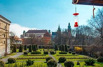 Archaeological Museum of Kraków - Image: Garden at the Archeological Museum of Krakow