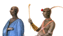 Gardiner - Dingane in Ordinary and Dancing Dresses (1836), crop.png