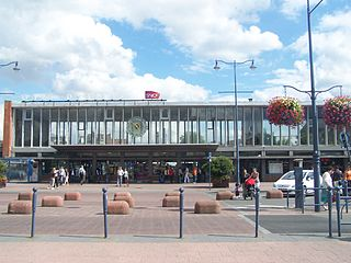 Gare dArras railway station in France
