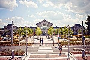 Charleroi-South railway station - Image: Gare de Charleroi Sud