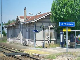 Image illustrative de l'article Gare de La Fouillouse