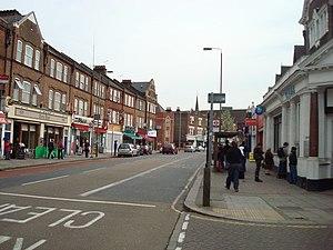 Garratt Lane - Garratt Lane in 2008
