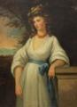 Gasparo Martellini - Portrait of Maria Caroline Augusta of Habsburg-Lorraine, Princess of Tuscany.webp
