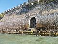 Gate at the sea at Palaio Frourio walls in Corfu.jpg