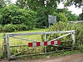 Gate blocking vehicular access - geograph.org.uk - 1388623.jpg
