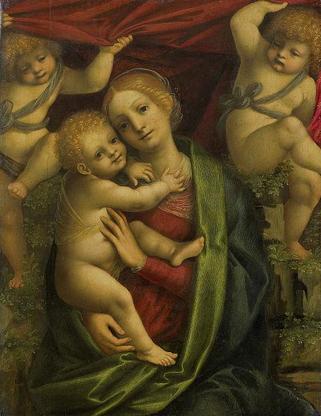 File:Gaudenzio Ferrari - Maria met kind.jpg