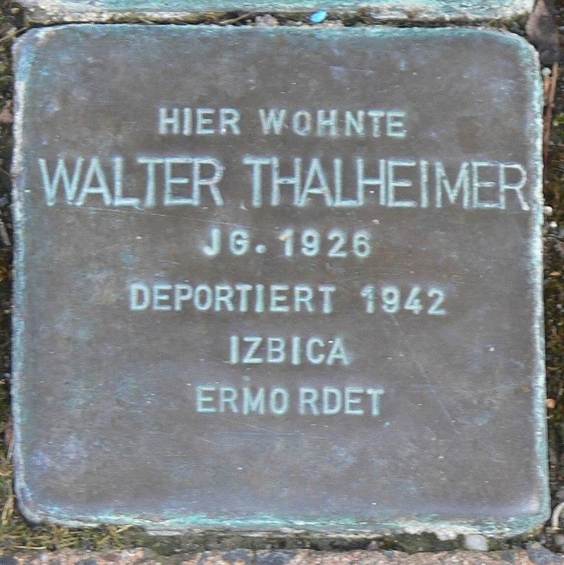 Gaukönigshofen Stolperstein Thalheimer, Walter.jpg