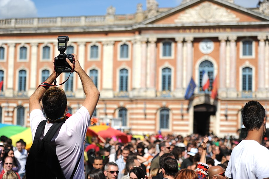 Toulouse Gay Pride 2011 in Toulouse, France, on June 18th, 2011.