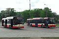 Gdańsk Śródmieście autobusy miejskie Solaris i MAN.JPG