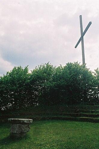 Adam von Trott zu Solz - Monument to von Trott zu Solz at Imshausen