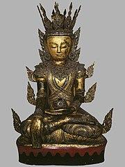 Crowned Buddha Sakyamuni