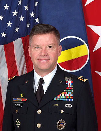 Commanding General, United States Army Training and Doctrine Command - Image: General David G. Perkins in AS Us (TRADOC)