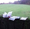 Geocache stash and landscape - geograph.org.uk - 314684.jpg