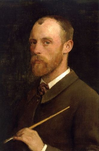 George Clausen - George Clausen – Self-portrait