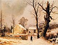 George Henry Durrie - Winter Scene in New England.JPG