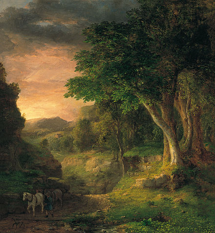 George Inness - In the Berkshires, 1850 George Inness - In the Berkshires.jpg