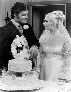 Another World (TV series) - Steve and Alice are married, 1971.